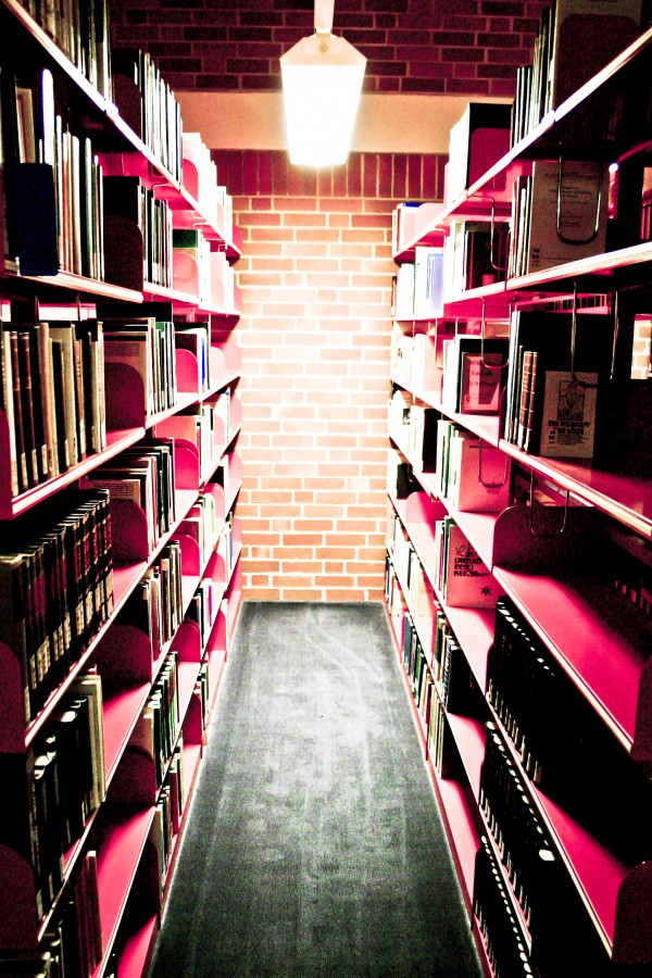 library, interior, education, books,