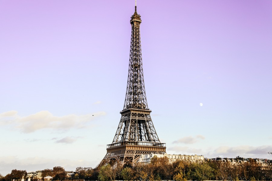 Eiffel tower, paris, france, city, monument, day, cityscape,