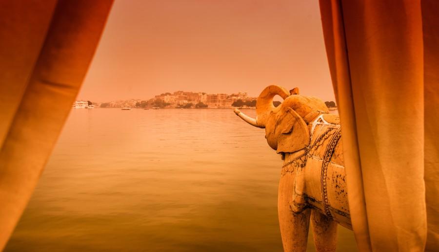 Indian, elephant mandir, castle, asia, Hindi, landscape, india
