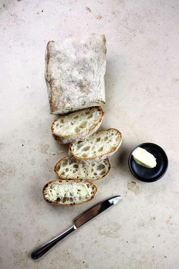 French bread, bread, slice, cut, food,