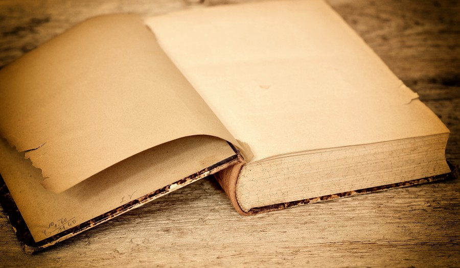 book, old, white, open, page, diary, notepad, past,