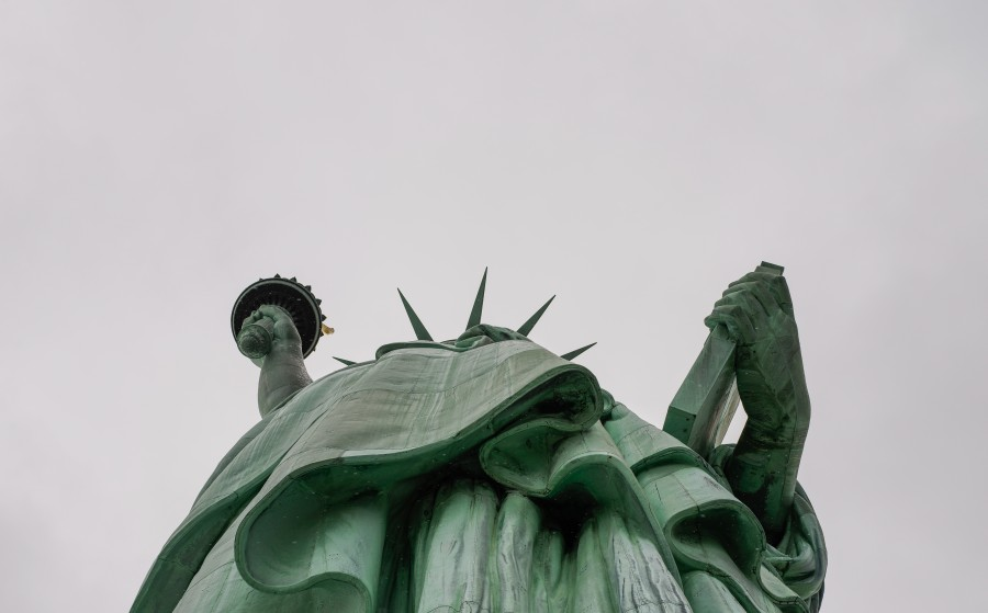 Statue of Liberty, united states, usa, statue, day, close-up, symbol, new york,