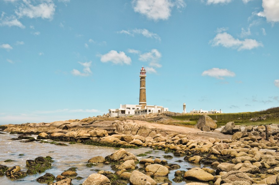 lighthouse, landscape, tourism, travel, Cabo Polonio, Rocha, Uruguay, beach, sea