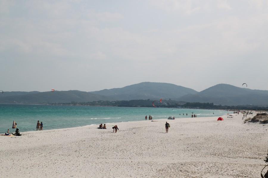 beach, italy, europe, coast, summer, people, landscape, Sardinia, Mediterranean,