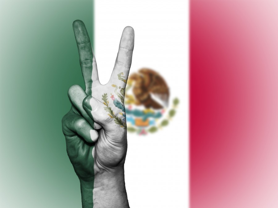 mexico, peace, hand, nation, background, banner, colors, country, ensign, flag, icon, national, state, symbol, tourism, travel