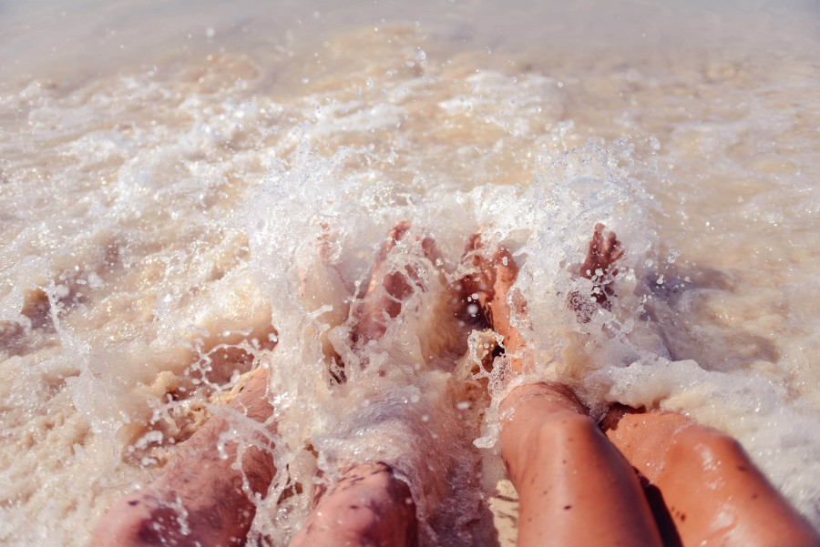 Beach, Holiday, Lifestyle, Ocean, Orange, Photography, Pink, Summer, Water, Woman, body art, feeling, feet, love, ltoes, man, parts, relationship, romance, sea, splash, splsh, sun, vaction, vanlentine,