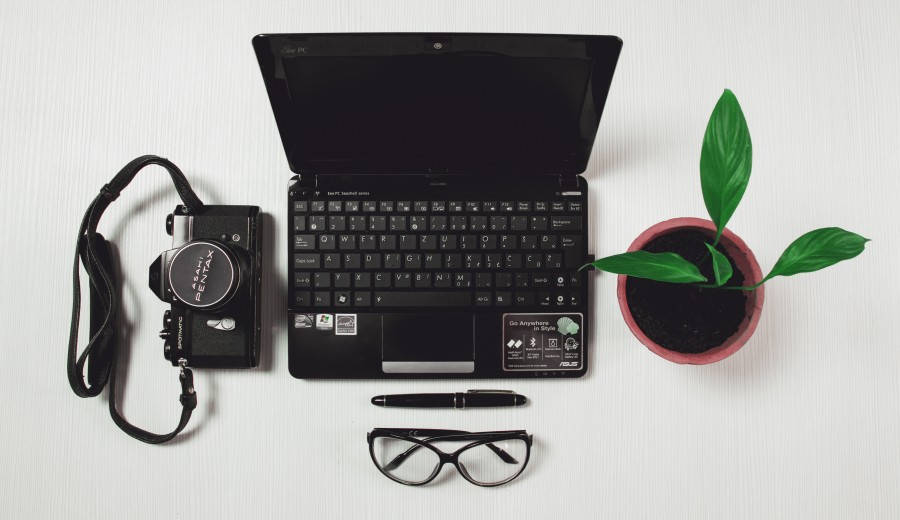 computer, office, business, labor, technology, internet, laptop, keyboard, modern, corporate, display, white, table, professional, communication, education, free photos, free images, business, plant, camera Pentax
