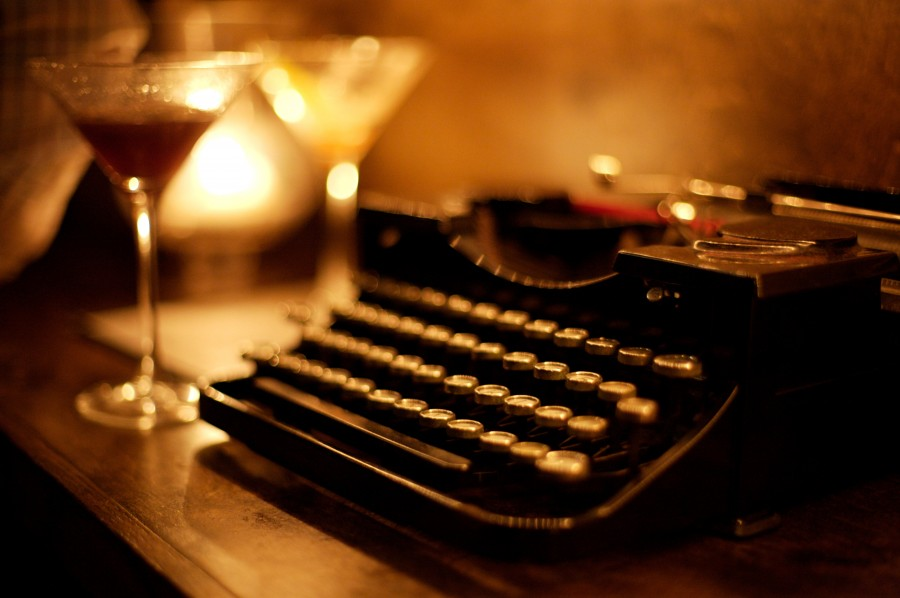 typewriter, machine, keys, writing desk, antique, vintage, concept, nobody, inspiration, foreground,
