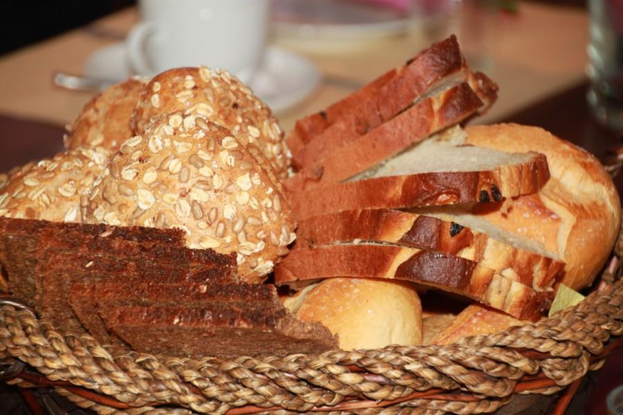 bread, slice, slice, homemade, seeds, bread basket, food,