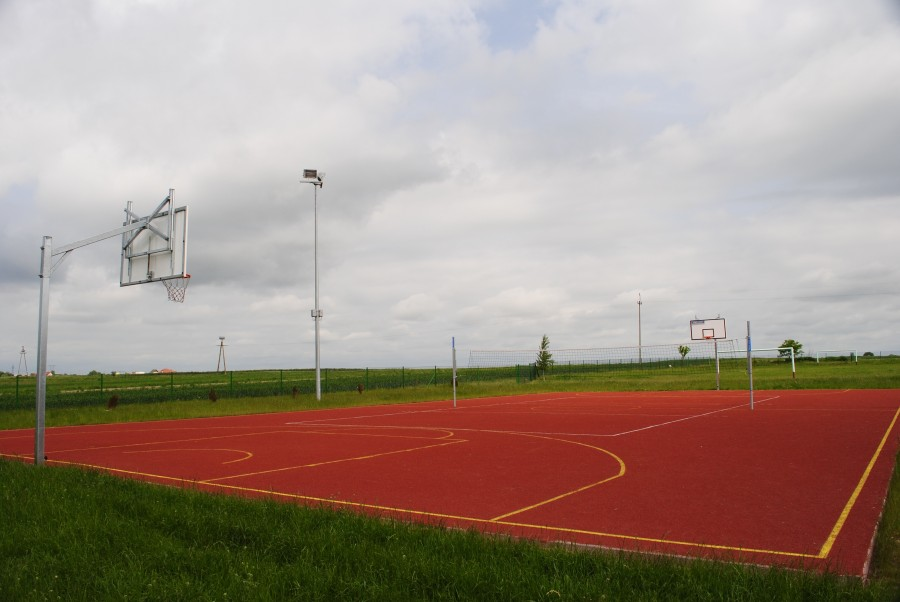 field, game, golf, basketball, basketball, nobody, hoop, sports, outdoors,