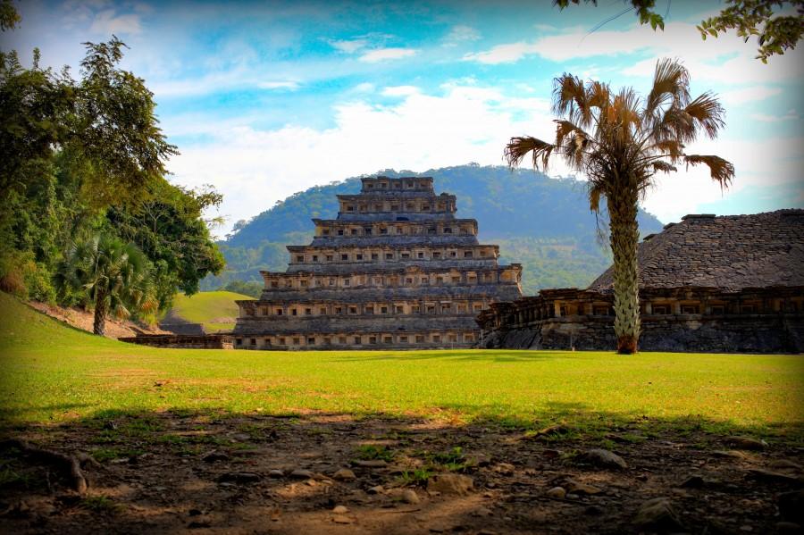 Pyramids, mayas, mexico, architecture, tourism, pyramids, sun, ruins, veracruz, culture, landscape, visit