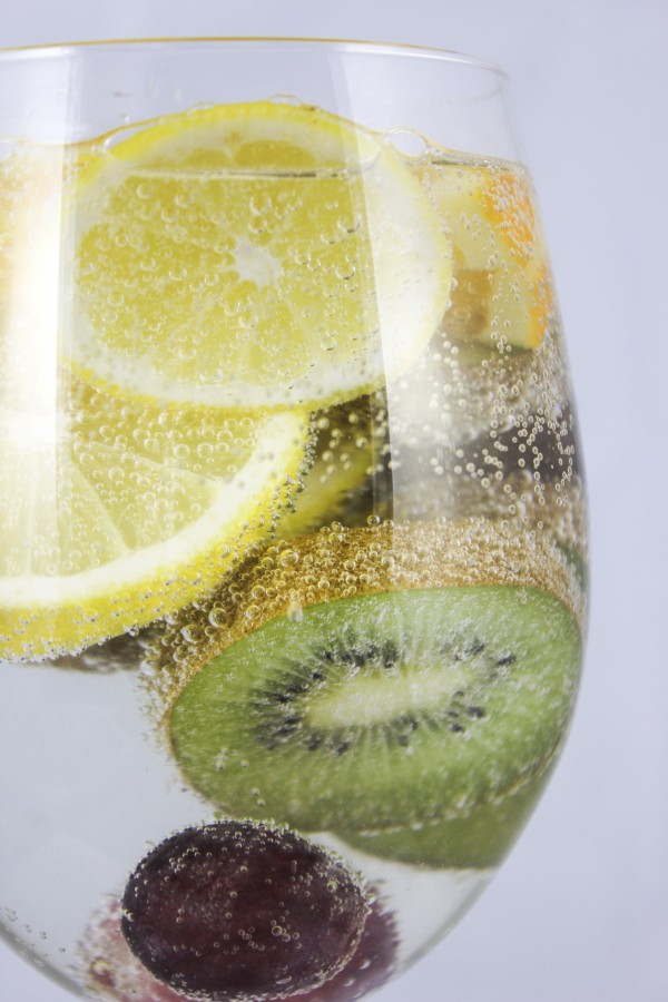 lemonade, citrus, drink, infusion, kiwi, fruit, fruit, flavor, light, healthy,