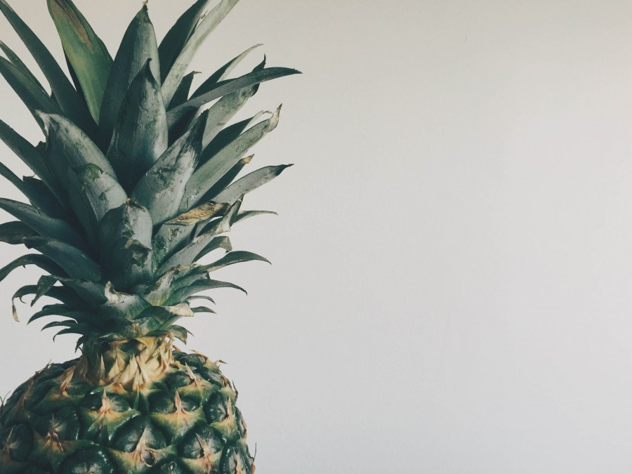 pia, fruit, fruits, fresh, tropical, food, pineapple, ripe, mature, close-up,
