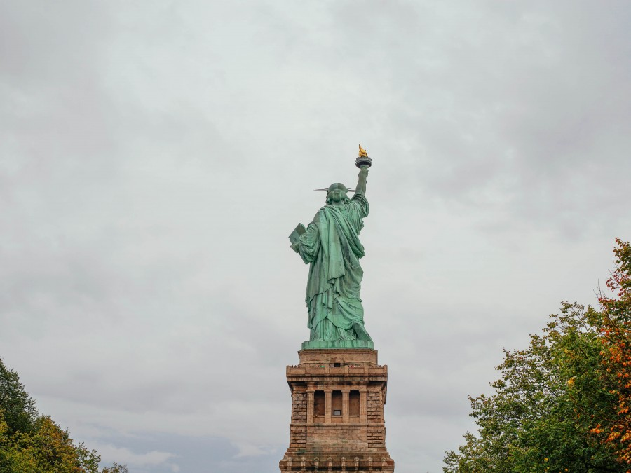 Statue of Liberty, united states, usa, statue, day, close-up, symbol, new york