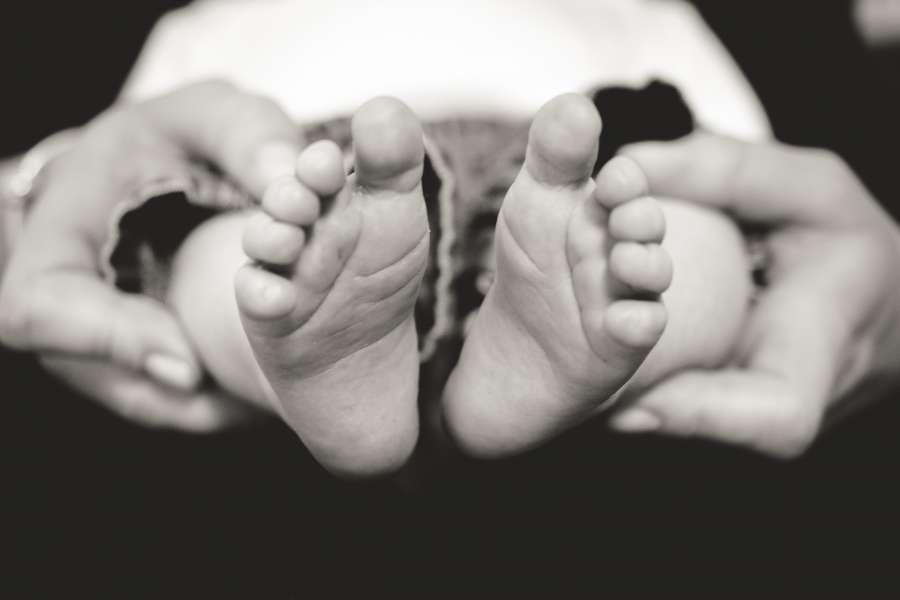 baby, foot, feet, black and white, family, love, hands, hold, concept, newborn, child,