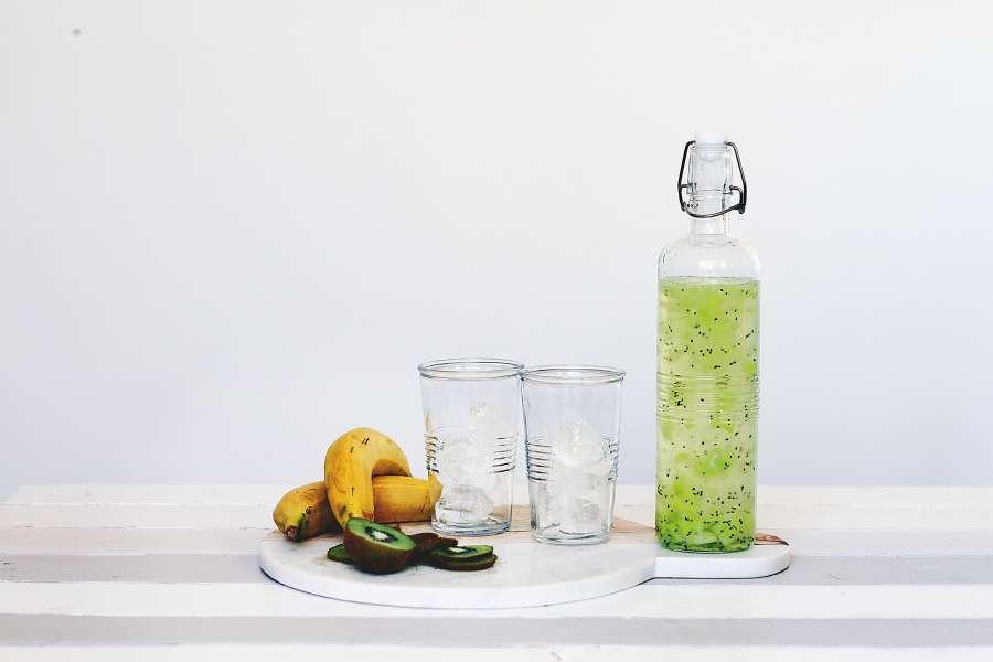 juice, soda, fruit, fruit, banana, health, healthy, bottle, drink, cold,