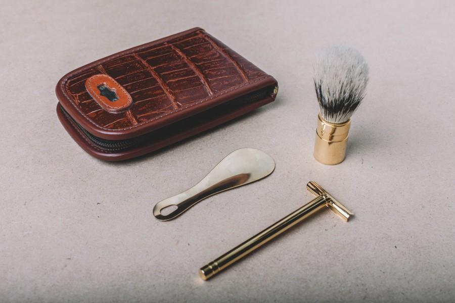 splitshire, makeup, accessories, brush, leather, fashion, set,