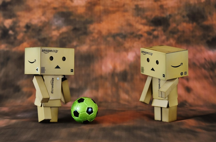 Football, play, danbo, funny, football player, sport, footballers, toys, ball, cute