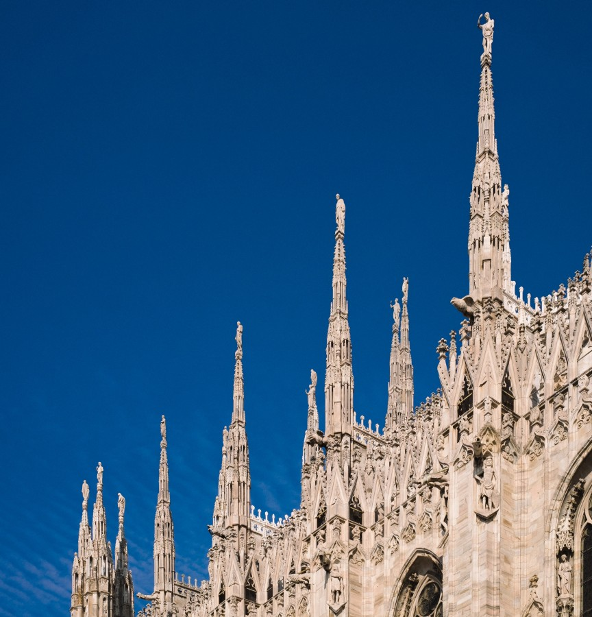milan, italy, europe, cathedral, architecture, city, religion,
