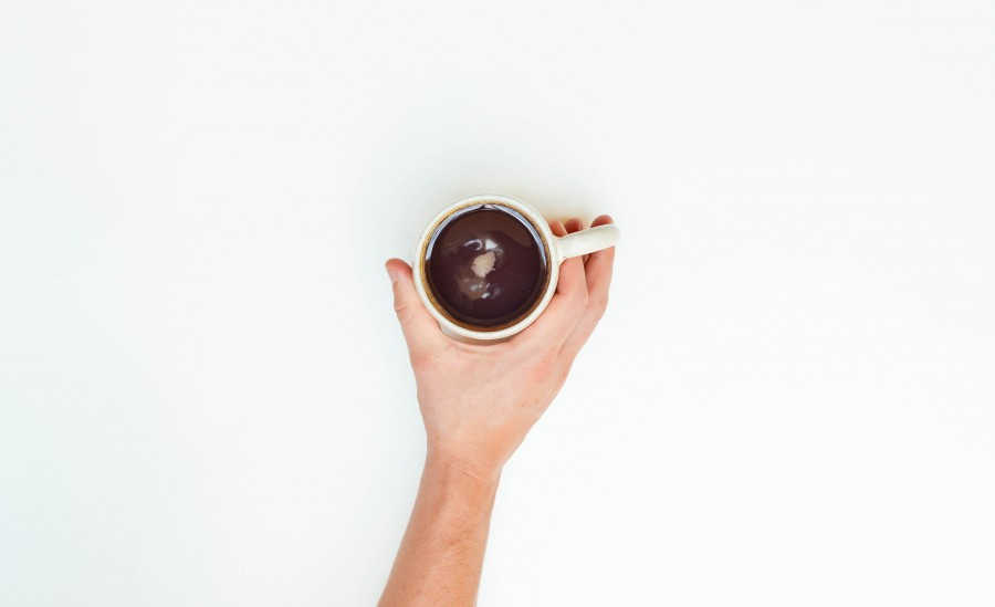 Coffee, Mug, Stokpic, White, brewed, cafe, cup, hand, morning,