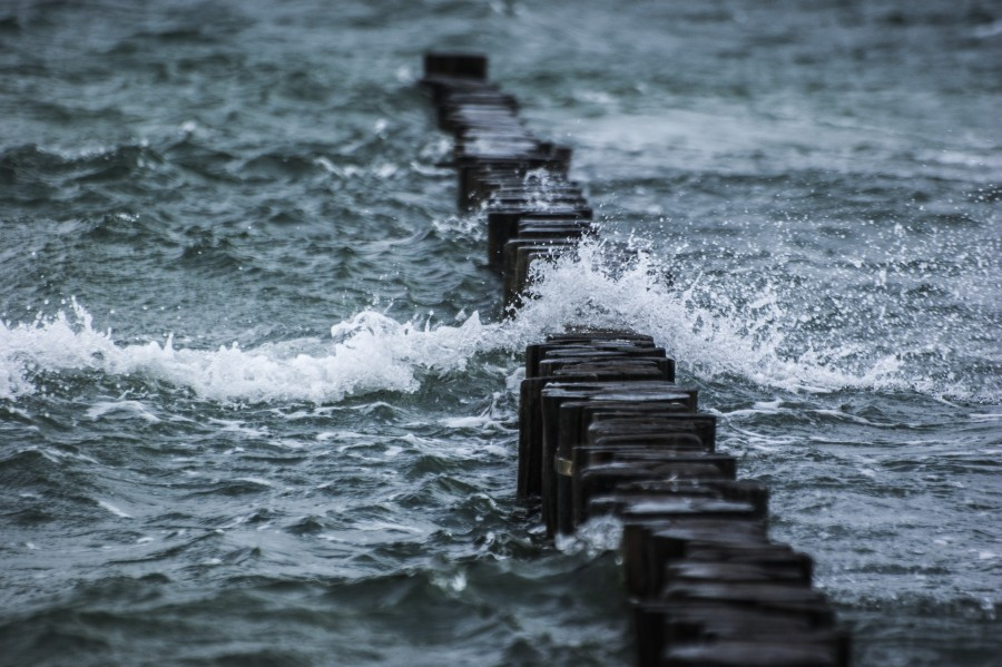 Breakwater, sea, wave, water, spray, stormy, windy, free photos, free pictures, hd wallpaper