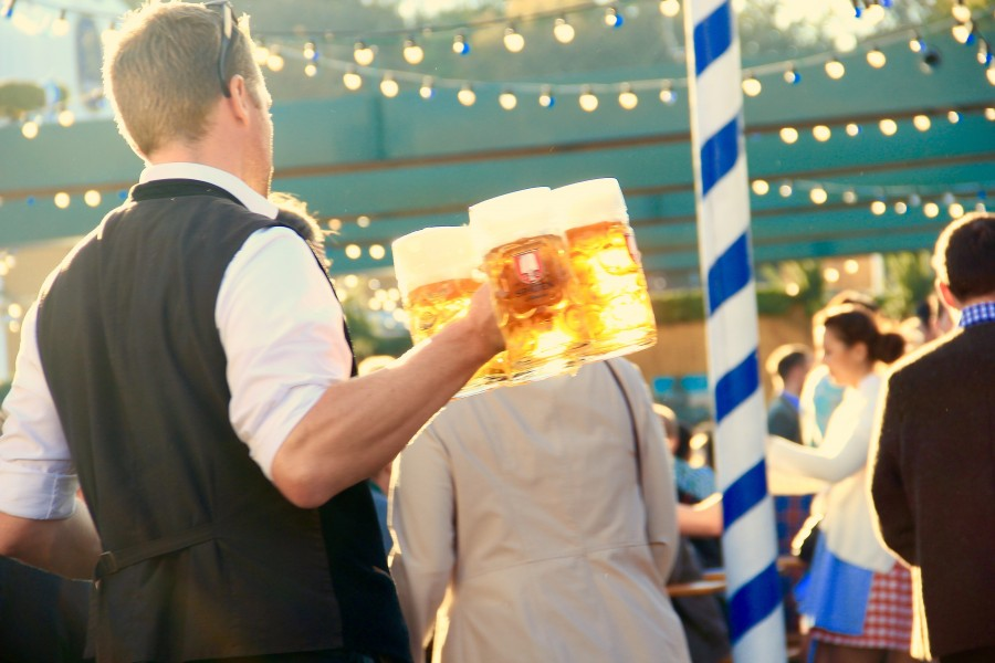 Oktoberfest, party, beer, bartender, drink, celebration, celebration, chops,