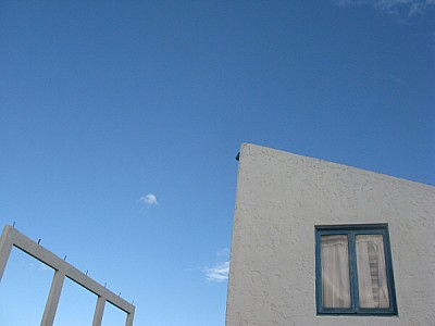free images  house, building, houses, view from below, sky, sum