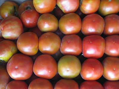 free images  fruit, fruits, tomato, tomatoes, lemons, front vie