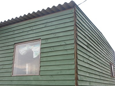 free images  house, wall, wood, front view, window, green, back