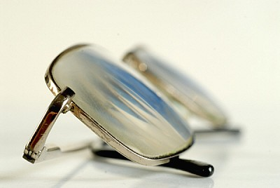 free images  Magnifying glasses on the table