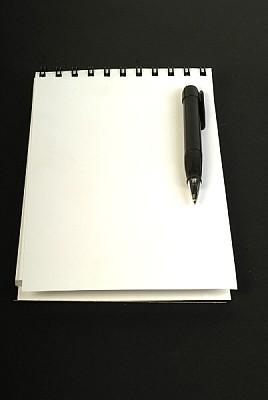 free images  prod03, notepad, calendar, white, pen, pen, object