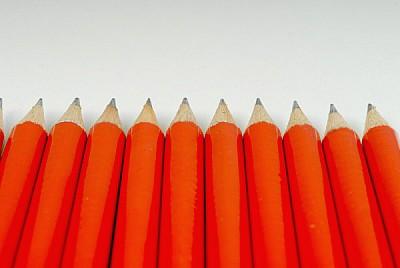 prod04, pencil, pencils, red, color, front view, c