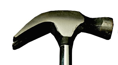 free images  prod04, hammer, tool, foreground, white background