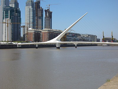 Argentina, Buenos Aires, Puerto Madero, day, outdo