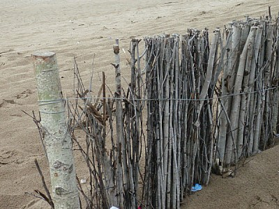 free images  beach front view, day, fence, post, pole, landscap