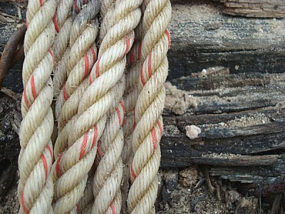 Rope products, old, valuable, strength, roll, roll