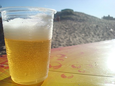 beach, summer, vacation, relax, drink, beer, alcoh