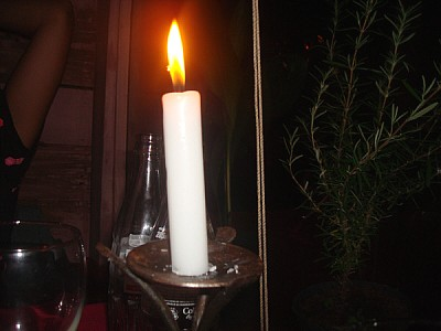 free images  night, exterior, restaurant, candle, candles, ligh