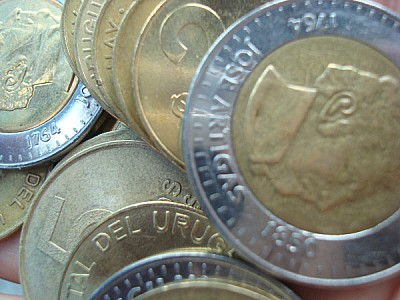 free images  Uruguayan Peso Coins