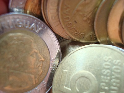 currency, coins, money, Uruguay, weight, weights,