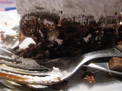 free images  prod06, cake, dessert, chocolate, cream, front vie