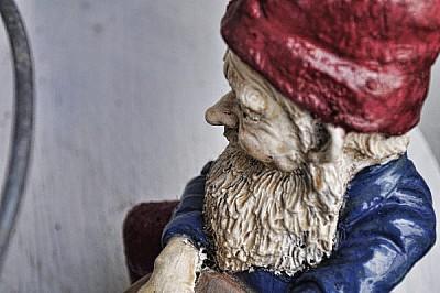, Prodjune2010 gnome javier dwarf bearded statue,