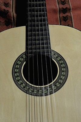 free images  , Guitar, instrument, music, musical, Creole, nobo