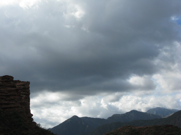 Argentina, la rioja landscape talampaya, day, outdoor, outside, mountain, mountains, sky, cloud, clouds, storm, bad weather,
