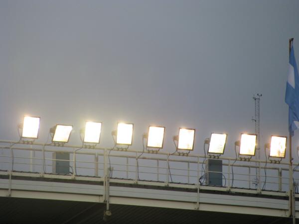 prod06, night, outside, reflector, reflectors, show, light, lights, lighting, stage, sky, nobody, electricity, light below, tennis, stadium, event, recital,